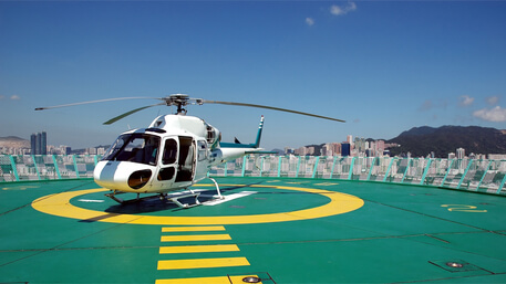 Getting from Macau to Hong Kong by Helicopter