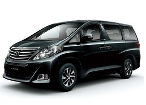 Hong Kong Airport Transfer By Private Van Toyota Alphard