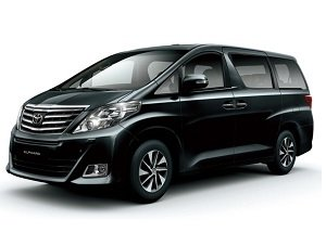Rent Minivan Toyota Alphard For Corporate Events in China
